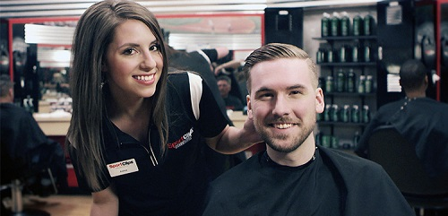 Sport Clips Haircuts of The Bridges at 57th​ stylist hair cut